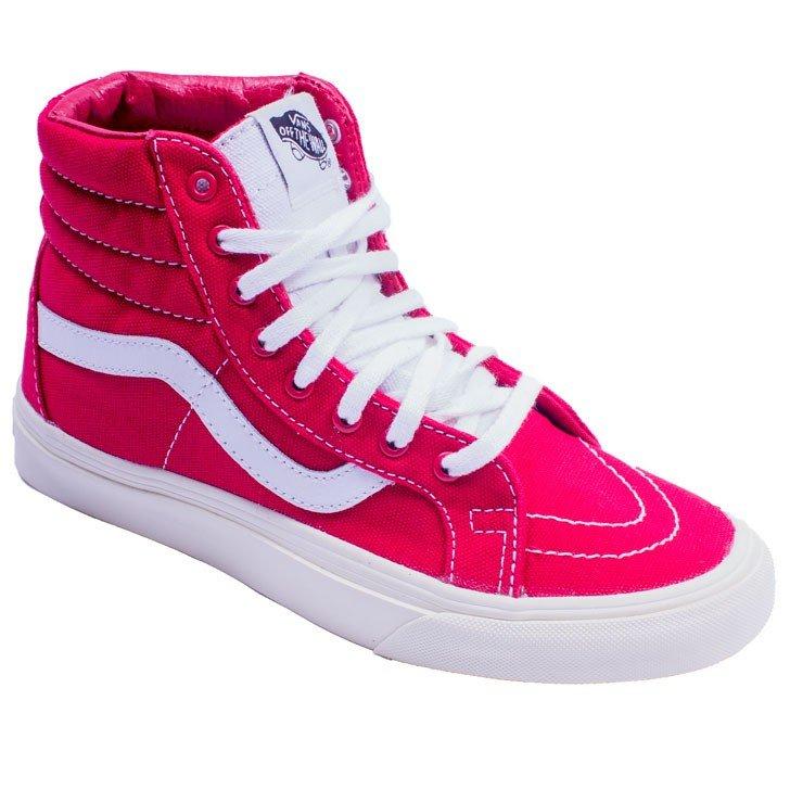 Tenis Vans feminino em rosa alto
