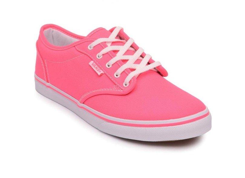 Tenis Vans feminino em rosa