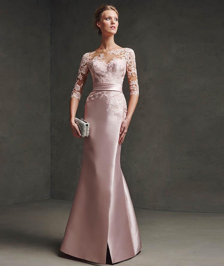 Vestido para mae da noiva Casamento diurno