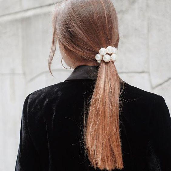 acessorios moda reveillon perolas