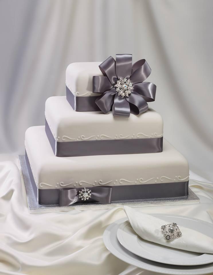 bolo de casamento rectangular