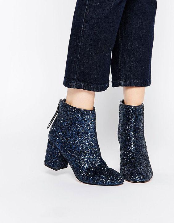 botas brilho glitter