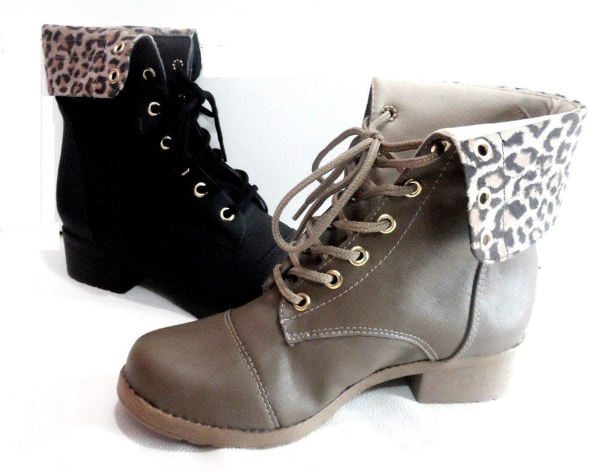 botas femininas cano curto