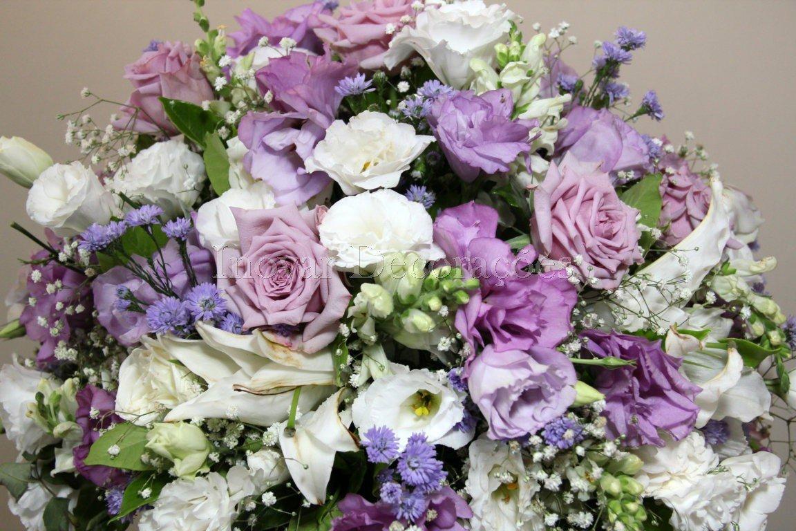 Fotos de decoração de casamento lilás
