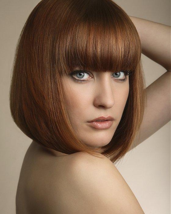 cabelo franja curto