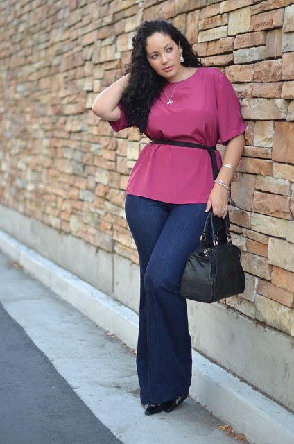 calca jeans plus size larga