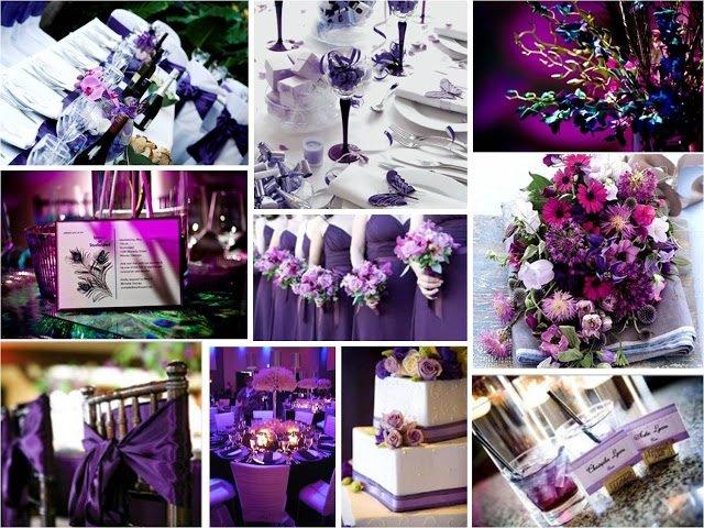 casamento em lilas decorado