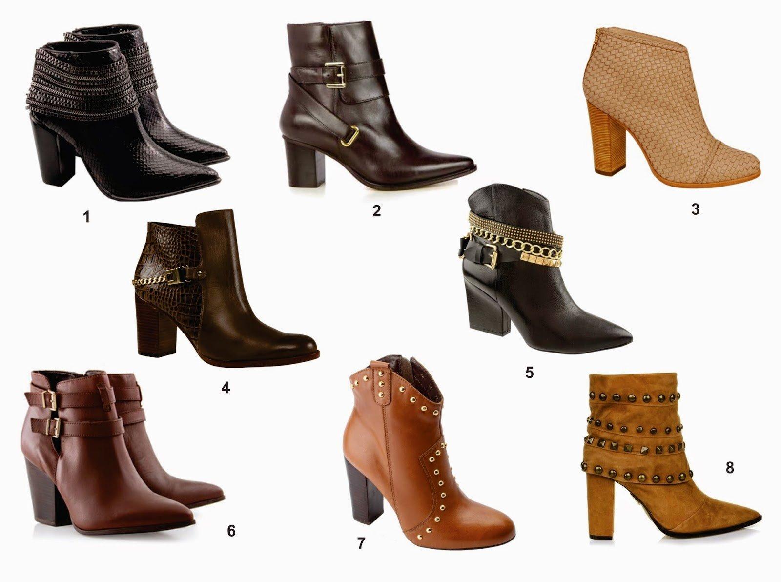 como comprar botas cano curto