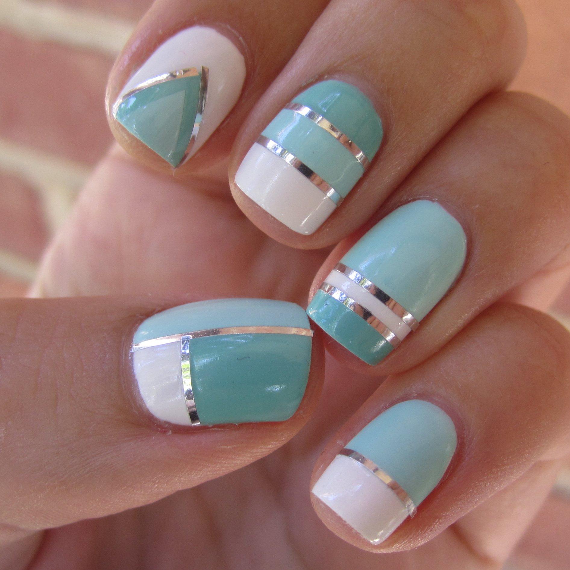como decorar unhas para o reveillon