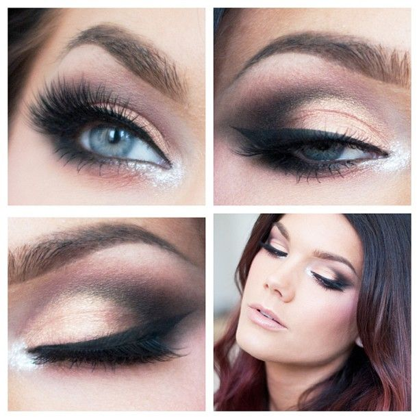 Tutorials Fotos De Noivas Maquiagem Ultimate Glamour Eye Makeup Bridal Green Middot Wedding Looks