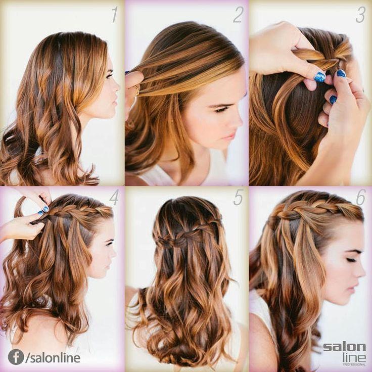 como fazer penteado para formatura