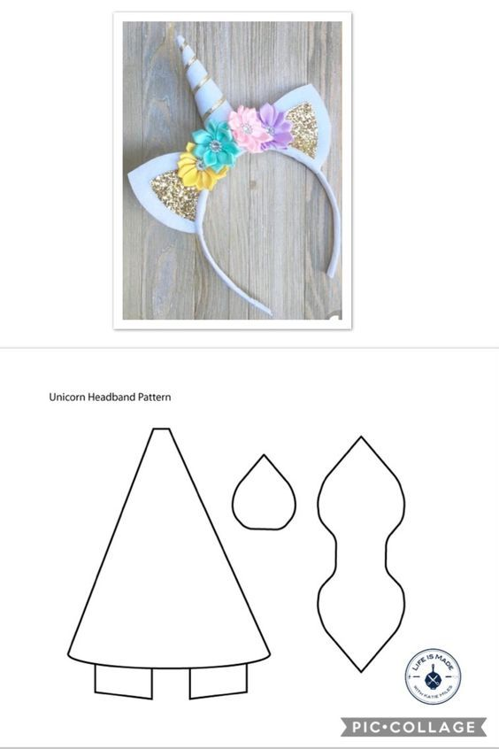 como fazer tiara unicornio 3
