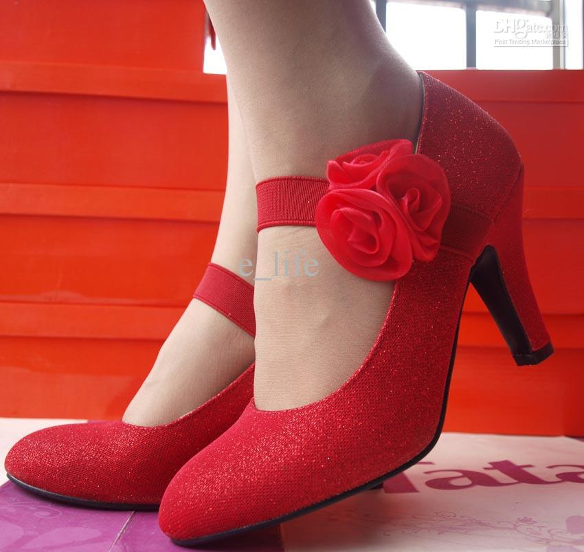 como usar sapato vermelho