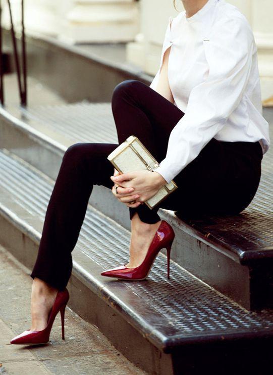 como usar sapatos scarpin 2