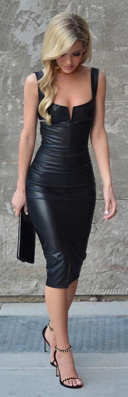 como usar vestido tubinho 2