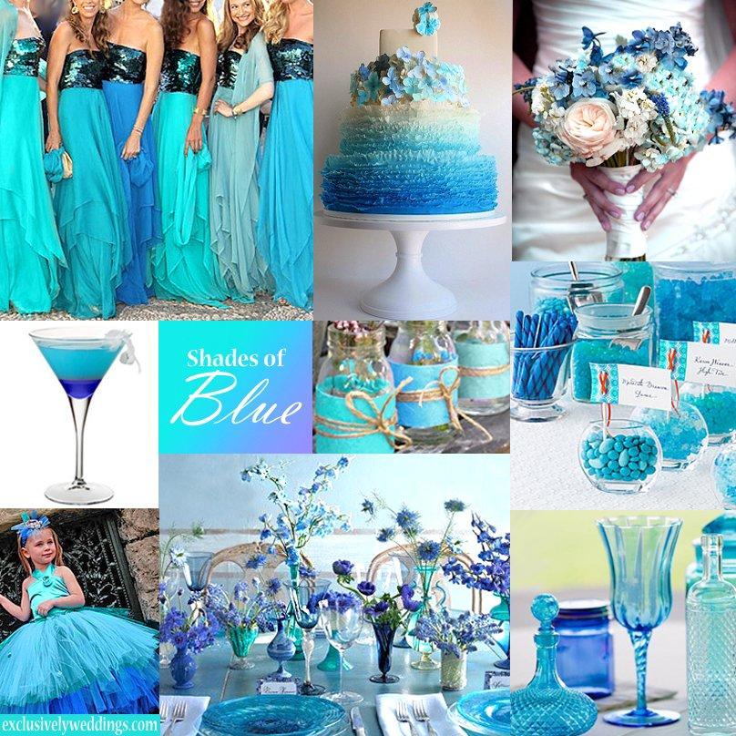 cores casamento azul