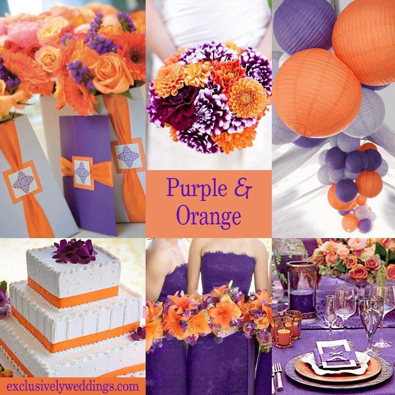 cores casamento laranja