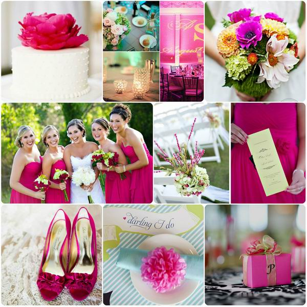 cores casamento rosa