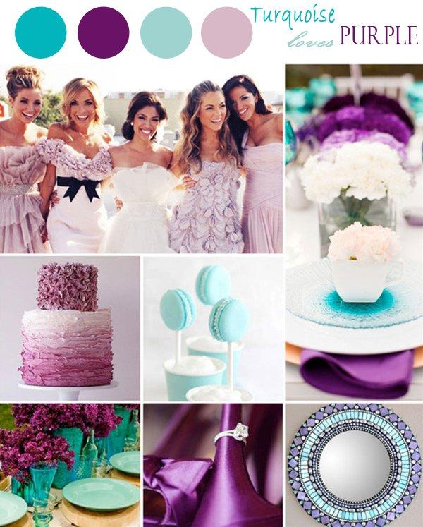 cores casamento turquesa