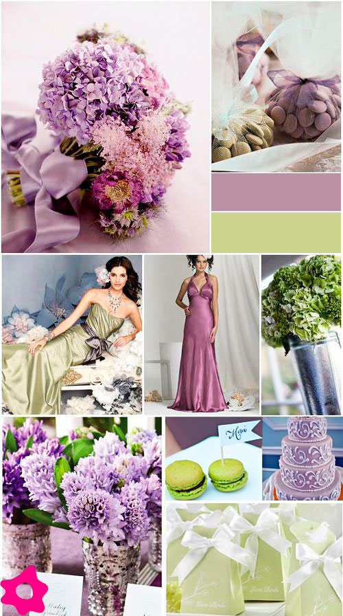 decoracao casamento nas cores lilas