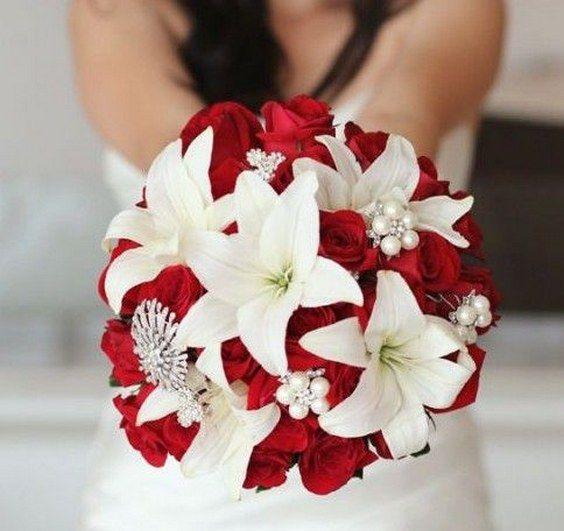 decoracao casamento vermelho branco 1