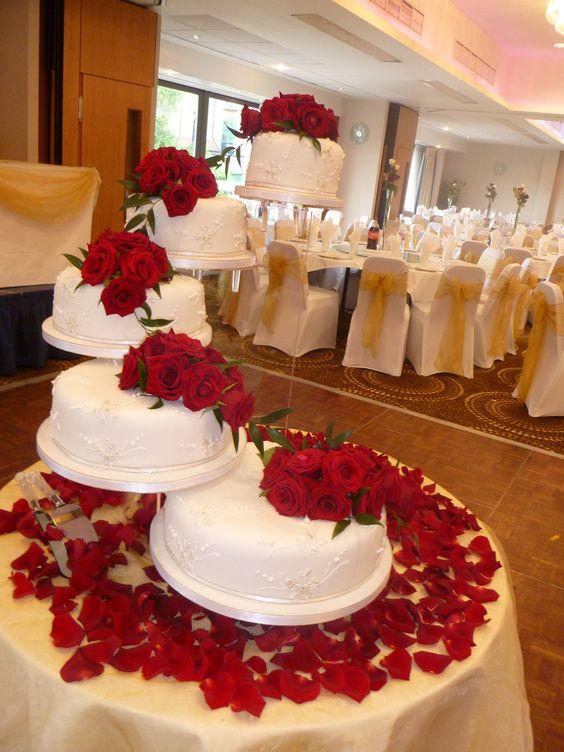 decoracao casamento vermelho branco 5