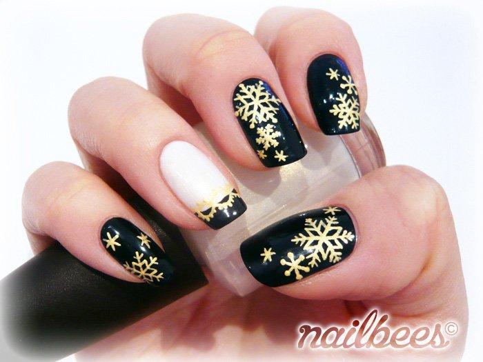 decoracao de unhas para o natal