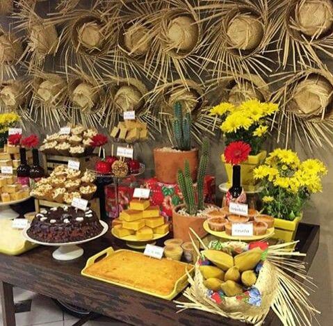 decoracao festa junina comida 1