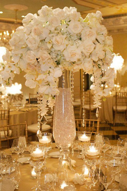decoracao mesa casamento branca