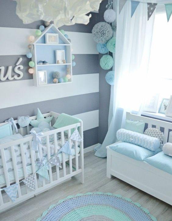 decoracao quarto bebe menino 4