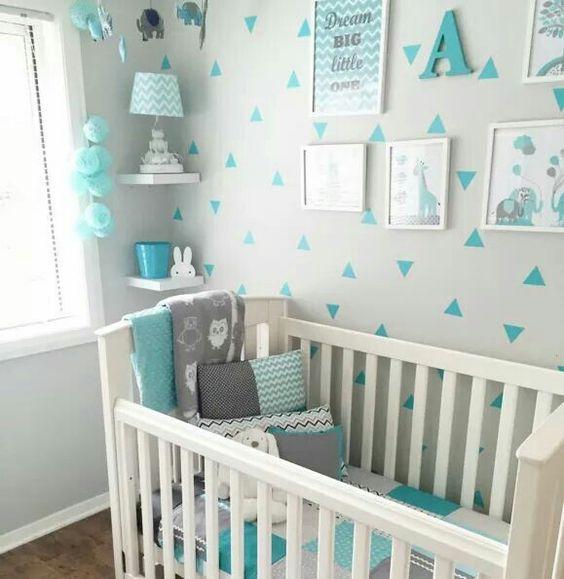 decoracao quarto bebe menino 8