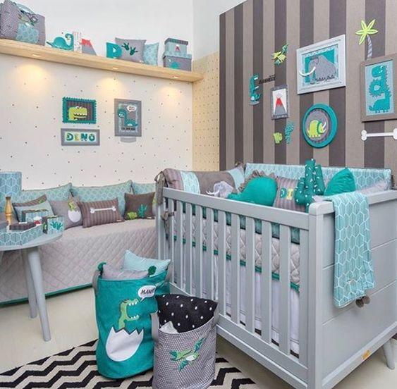 decoracao quarto bebe menino 9