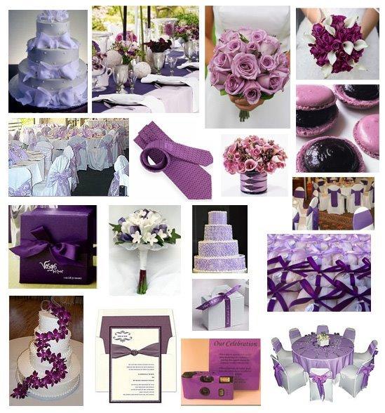 decorar casamento com lilas
