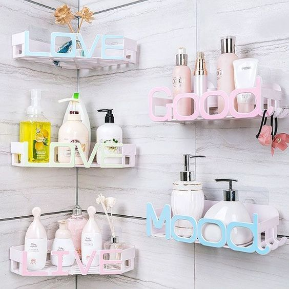dicas organizacao banheiro prateleiras