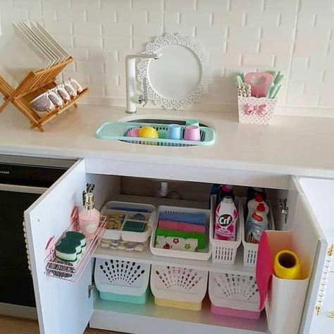 dicas organizacao cozinha cestos