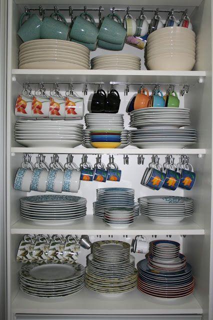 dicas organizacao cozinha ganchos