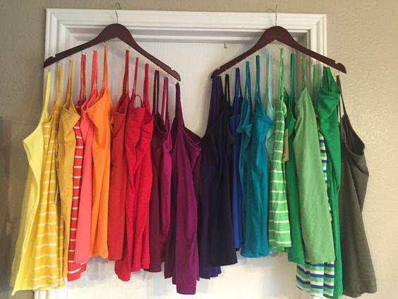 dicas organizacao quarto roupa dicas