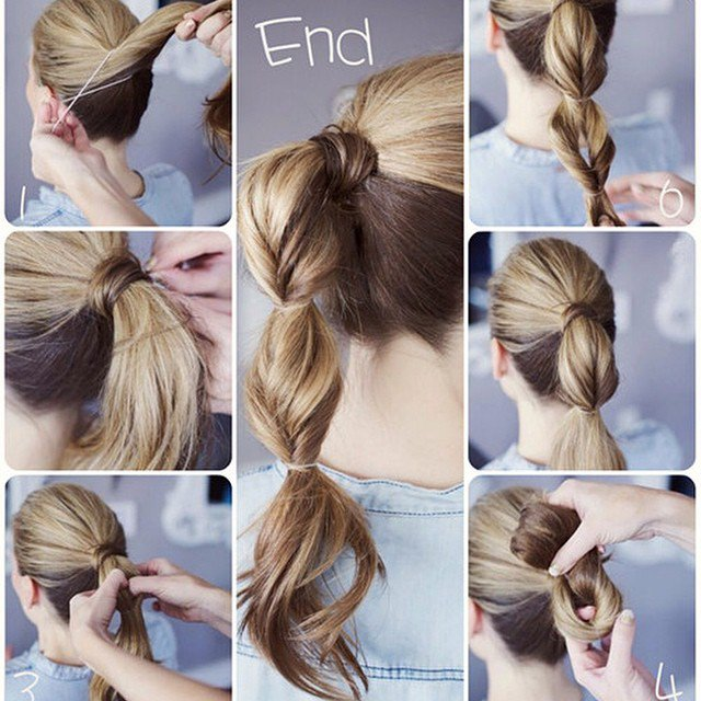 dicas para fazer um penteado simples