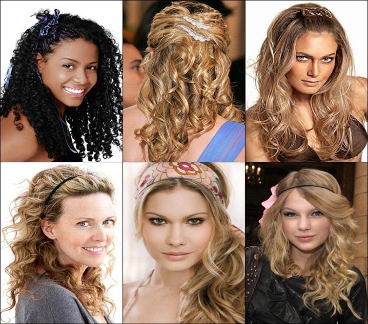 fotos e modelos de cabelos cacheados