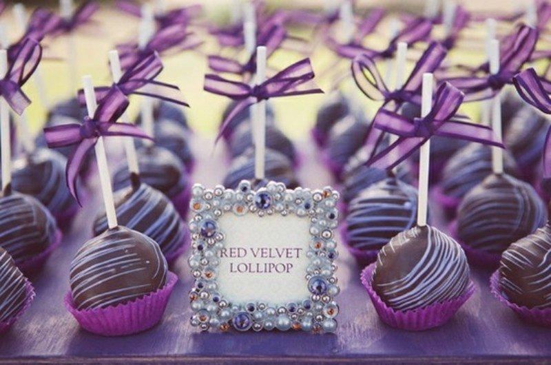 ideia para casamento decorado com lilas