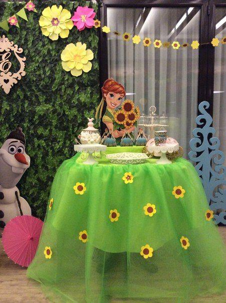 ideias decoracao festa frozen 1