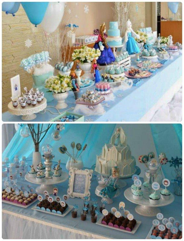 ideias decoracao festa frozen 10