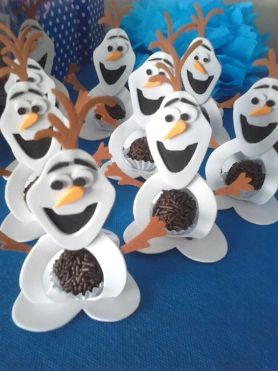 ideias decoracao festa frozen 13