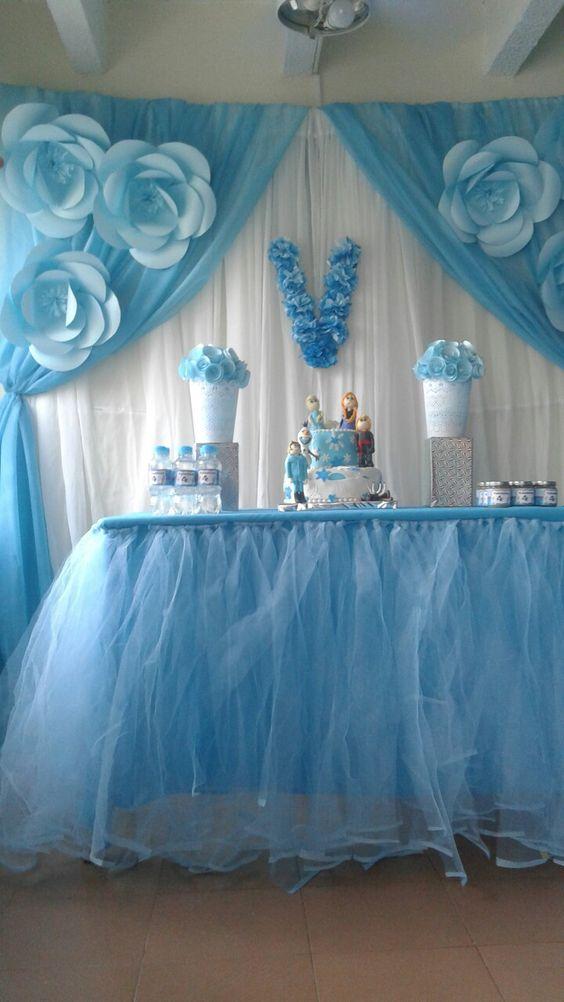 ideias decoracao festa frozen 16