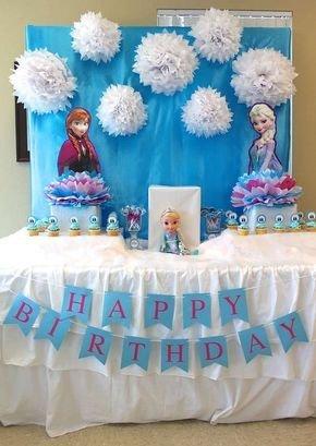 ideias decoracao festa frozen 2