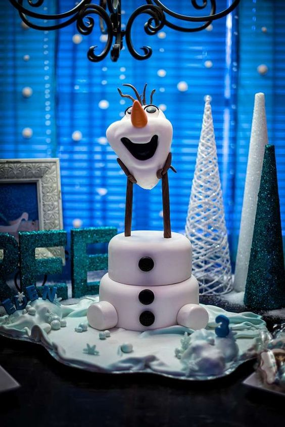 ideias decoracao festa frozen 7