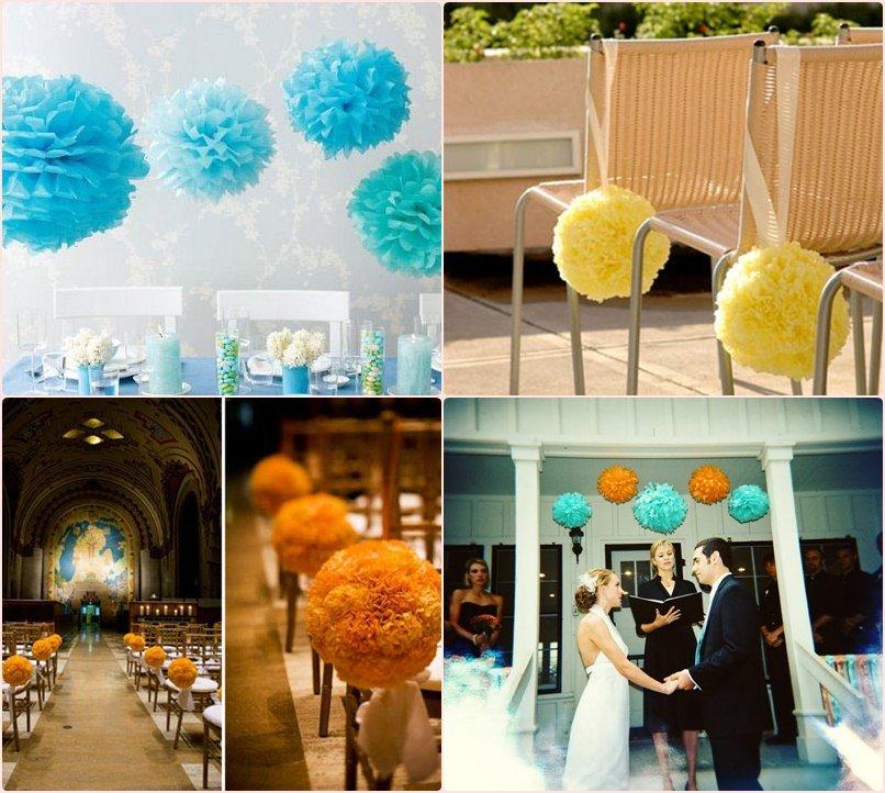 ideias para decorar casamento simples