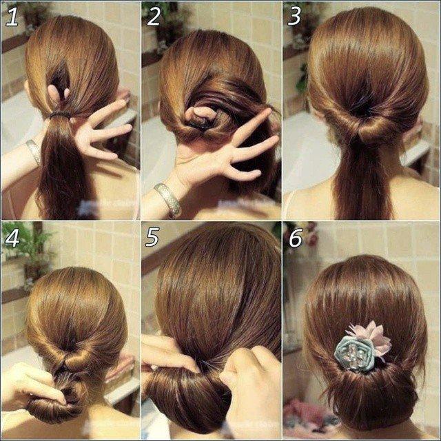 ideias para penteados simples