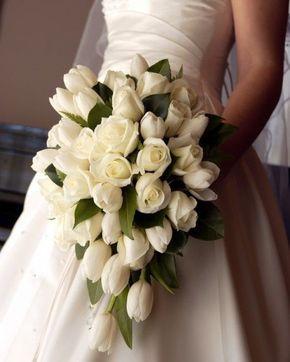 ideias ramos noiva tulipas 1