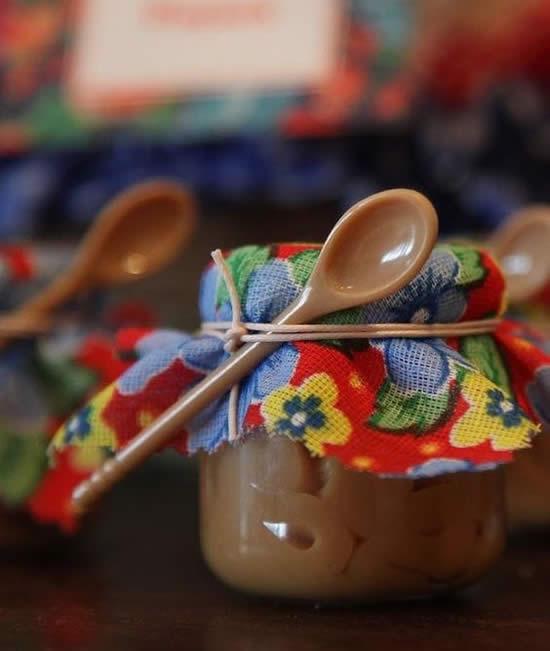 ideias servir doces festa junina pote